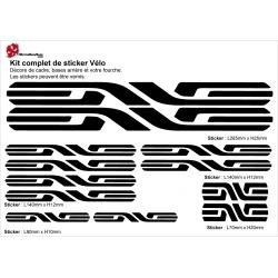 Sticker cadre Vélo ENVE