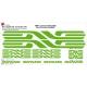 Sticker cadre Enve vélo XXL