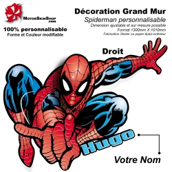 Décoration géant Spiderman