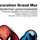 Décoration géant Spiderman