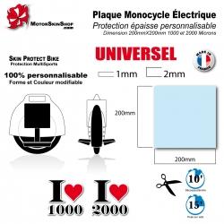 Plaque Film de Protection Monocycle électrique