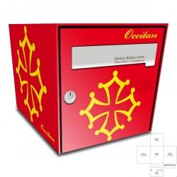 Sticker Boite aux lettres Occitan