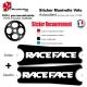 Sticker Manivelle Race Face personnalisable