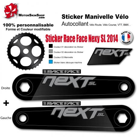 Sticker Manivelle Race Face Next SL 2014