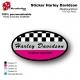 Sticker Harley Davidson Garde Boue