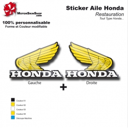 Sticker Honda aile Type Or
