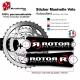 Sticker Manivelle Rotor Bike