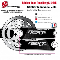 Sticker Manivelle Race Face Next SL 2015