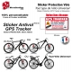Sticker Antivol vélo universel GPS Tracker