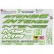 Sticker cadre Intense M9 FRO Logo Taille XXl