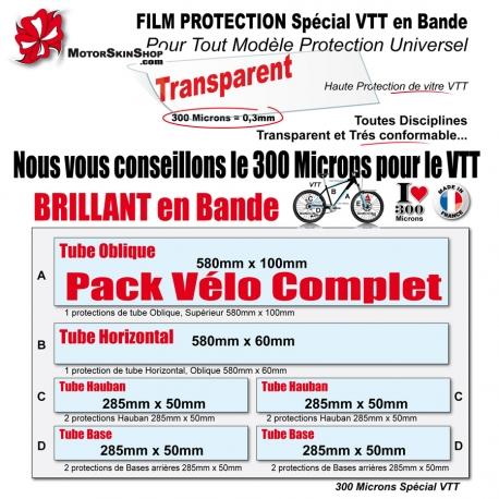 Film de Protection VTT Universel 300 Microns en Bande Découpé