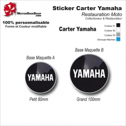 Sticker Carter Yamaha