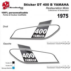 Sticker DT 400 B Yamaha 1975