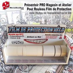 Présentoir Rouleau Film de Protection cadre Vélo Magasin Atelier