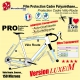 Film Protection cadre Vélo Route Polyuréthane Luxe M