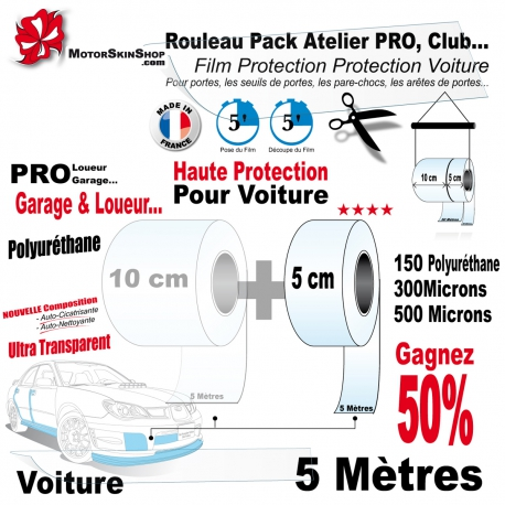Rouleau Film Protection PRO Protection Voiture Pack Atelier