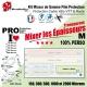Mixeur de Gamme M personnalisable Protection cadre Vélo VTT et Route