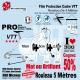 Film Protection VTT PRO 300 Microns en rouleau mat ou brillant
