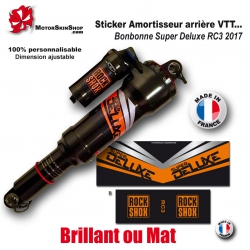 Sticker Amortisseur Bonbonne Super Deluxe RC3 2017