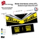 Sticker Amortisseur Bonbonne Super Deluxe RC3 2017