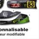 Kit déco Karting Tony Kart M6 Personnalisable Monster Energy Motorskin