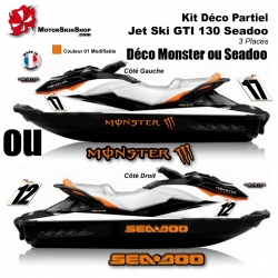 Kit déco GTI 130 Seadoo décoration Monster