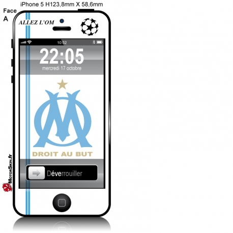 Sticker iPhone Olympique de Marseille