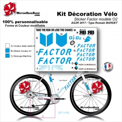 Sticker cadre Factor AG2R O2 Romain BARDET 2017
