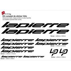 Sticker Lapierre Cadre Vélo Pro Tour 2017