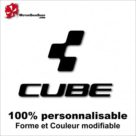 Sticker vélo Cube