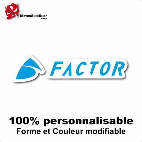 Sticker vélo Factor
