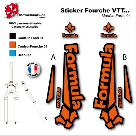 Sticker Fourche Formula Selva VTT