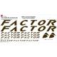 Sticker cadre Factor XXL