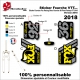 Sticker Fourche Fox Racing 2018 Shox 36 Float Factory FIT