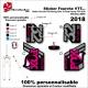 Sticker Fourche FOX Racing 2018 Shox 32 Float Factory FIT4