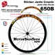 Sticker Jante COSMIC élite vélo roue 700 ou 650B 30MM