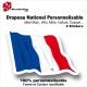 Sticker Drapeau FRANCE National Flottant Français