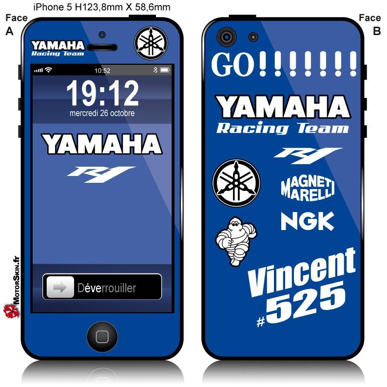coque iphone 8 yamaha r1 2015
