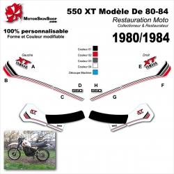 Sticker 550 XT Yamaha modéle 80-84