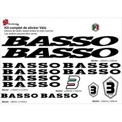 Sticker Basso cadre vélo