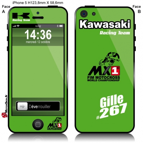Sticker iPhone Kawasaki