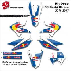 Kit Déco 50 Derbi Xtrem SM 2011-2017 50CC à boite Perso C