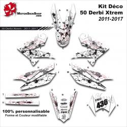 Kit Déco 50 Derbi Xtrem SM 2011-2017 50CC à boite Perso E