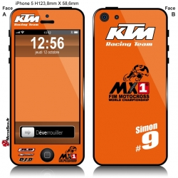 Sticker iPhone 5 KTM