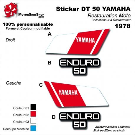 Sticker DT 50 YAMAHA