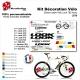 Sticker cadre Vélo Look 785 Huez complet 2019