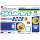 Sticker cadre VTT SUNN de 1999 Vélo champion du monde