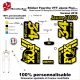 Sticker Fourche FOX Racing Shox Fluo 32 34 36 40 Factory Float Evol 2018
