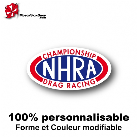 Sticker NHRA Championship Drag Racing Dragster