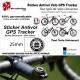 Sticker Antivol vélo universel Puce GPS Tracker Cadenas